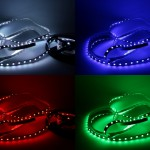 GERLED® Professional waterproof LED strip 150 SMD 5050 1m RGB