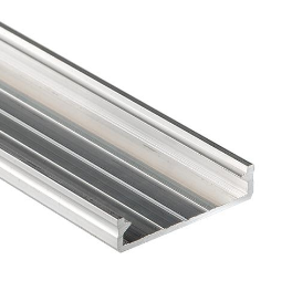 Architectural LED Profile SOLIS silver anodized 2m