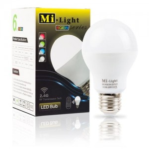 LED BULB WiFi MiLight E27 RGB+W