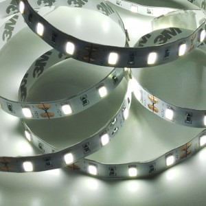 Economic indoor LED strip 300 SMD 2835 1m COLD WHITE