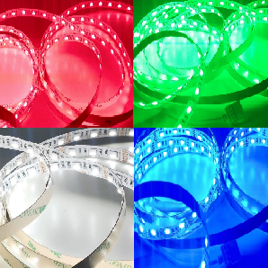 GERLED® Professional indoor LED strip 300 SMD 5050 1 m RGBW - RGB + COLD WHITE