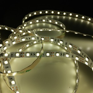 GERLED® Professional waterproof NANO LED strip 300 SMD 5050 1m WHITE WARM