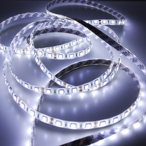 Economic waterproof LED strip 300 SMD 5050 1m COLD WHITE