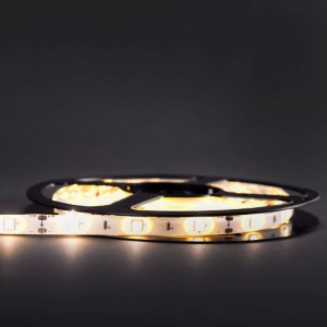 Economic waterproof LED strip 150 SMD 5050 1m WARM WHITE