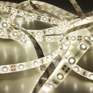Economic waterproof LED strip 300 SMD 3528 1m WARM WHITE